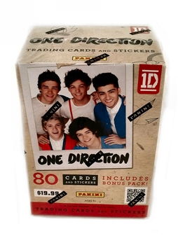 2013 Panini One Direction 8-Pack Value Box (80 Cards)