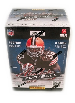 2012 Panini Absolute Football 8-Pack Blaster 10-Box Lot