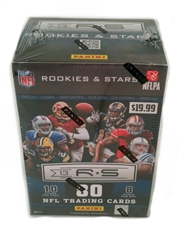 2013 Panini Rookies & Stars Football 8-Pack Box