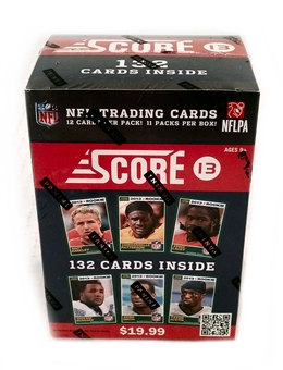 2013 Score Football 11-Pack Blaster Box (10-Box Lot)