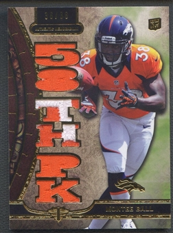 2013 Topps Triple Threads #TTRMB2 Montee Ball Rookie Patch #36/36