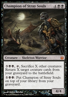Magic the Gathering Born of the Gods Single Champion of Stray Souls NEAR MINT (NM)