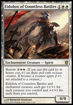 Magic the Gathering Born of the Gods Single Eidolon of Countless Battles Foil NEAR MINT (NM)