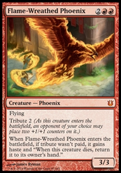 Magic the Gathering Born of the Gods Single Flame-Wreathed Phoenix Foil NEAR MINT (NM)