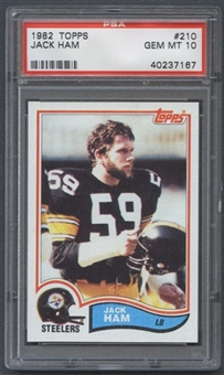 1982 Topps Football #210 Jack Ham PSA 10 (GEM MT) *7167