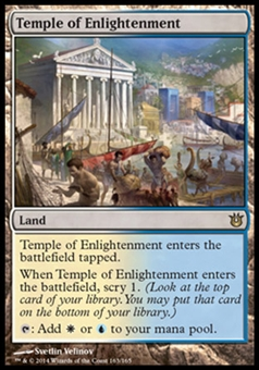 Magic the Gathering Born of the Gods Single Temple of Enlightenment NEAR MINT (NM)