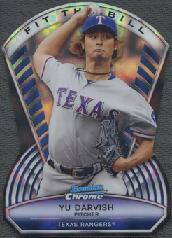 2013 Bowman Chrome #YD Yu Darvish Fit the Bill X-Fractors #16/24