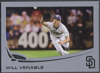 2013 Topps #225 Will Venable Silver Slate Sparkle #07/10