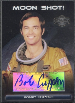 2007 Topps Co-Signers #RC Robert Crippen Moon Shots Auto