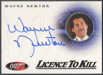 2008 James Bond In Motion #A115 Wayne Newton Licence To Kill Auto