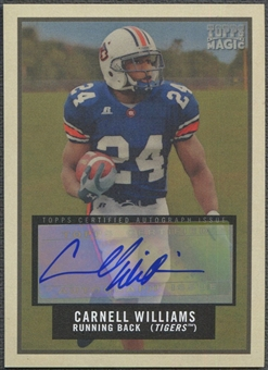 2009 Topps Magic #24 Cadillac Williams Auto /25