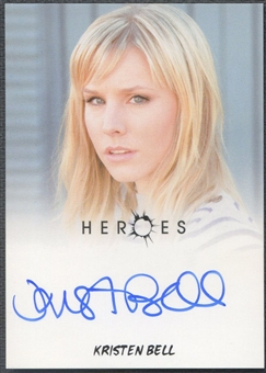 2010 Heroes Archives #28 Kristen Bell Auto