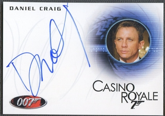 2012 James Bond 50th Anniversary #A110 Daniel Craig Auto