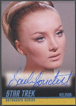 2009 Star Trek The Original Series #A232 Barbara Bouchet Auto