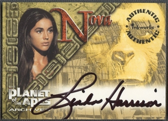 1999 Planet of the Apes Archives #A1 Linda Harrison Auto