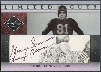 2007 Leaf Limited #3 George Connor Limited Cuts Auto #053/100