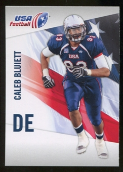 2012 Upper Deck USA Football #7 Caleb Bluiett