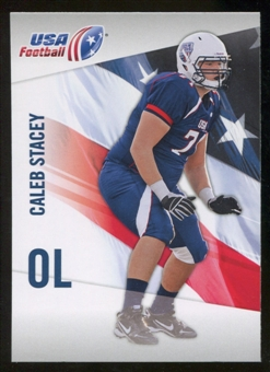 2012 Upper Deck USA Football #8 Caleb Stacey