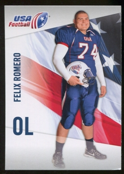 2012 Upper Deck USA Football #16 Felix Romero