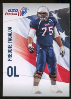 2012 Upper Deck USA Football #18 Freddie Tagaloa