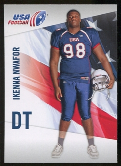 2012 Upper Deck USA Football #24 Ikenna Nwafor