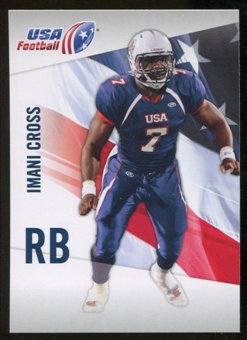 2012 Upper Deck USA Football #25 Imani Cross