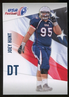2012 Upper Deck USA Football #32 Joey Hunt