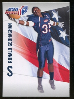 2012 Upper Deck USA Football #39 Ronald Geohaghan