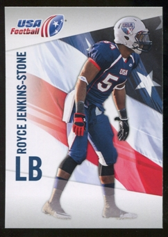 2012 Upper Deck USA Football #40 Royce Jenkins-Stone