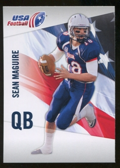 2012 Upper Deck USA Football #42 Sean Maguire
