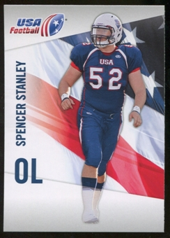 2012 Upper Deck USA Football #44 Spencer Stanley