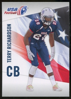 2012 Upper Deck USA Football #45 Terry Richardson