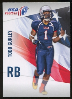 2012 Upper Deck USA Football #47 Todd Gurley