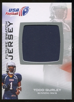 2012 Upper Deck USA Football Future Swatch #FS47 Todd Gurley Jersey