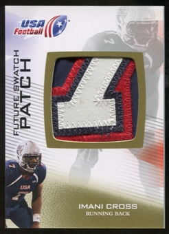 2012 Upper Deck USA Football Future Swatch Patch #FS25 Imani Cross