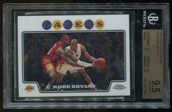 2008/09 Topps Chrome #24 Kobe Bryant BGS 9.5 Gem Mint