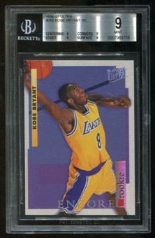 1996/97 Fleer Ultra RC #266 Rookie Kobe Bryant BGS Mint 9
