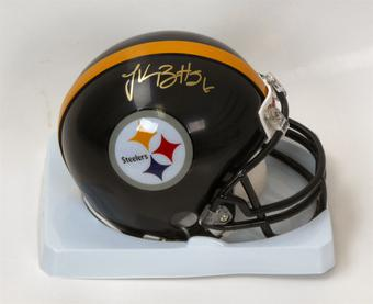 Le'Veon Bell Autographed Pittsburgh Steelers Mini Helmet (Bell Holo)