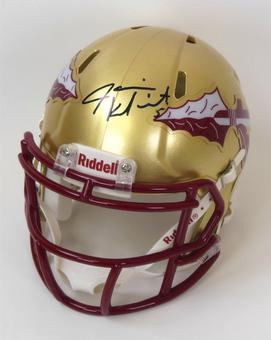 Jameis Winston Autographed Florida State Seminoles Speed Mini Helmet (JSA)