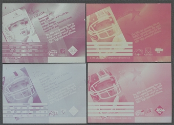 1996 Collector's Edge Todd Collins Set of 4 Printing Plate #1/1