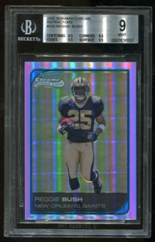 2006 Bowman Chrome Refractors RC Reggie Bush Rookie BGS 9 Mint