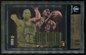 1995/96 Upper Deck #JC4 CC Michael Jordan Collection BGS 9.5 Gem Mint