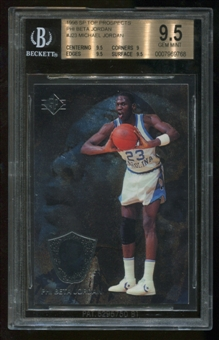 1998 SP Top Prospects #J23 Michael Jordan Phi Beta BGS 9.5 Gem Mint