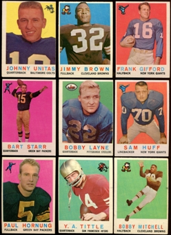 1959 Topps Football Partial Set (EX)
