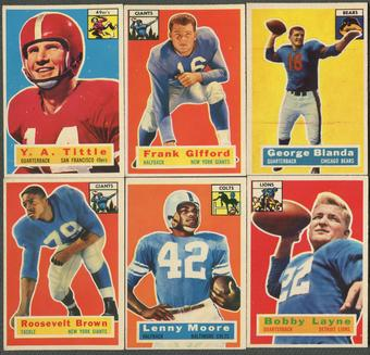 1956 Topps Football Complete Set (EX-MT)