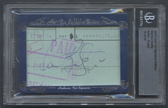 2012 Leaf Cut Signature Edition #869 Warren Beatty Cut Auto #10/40