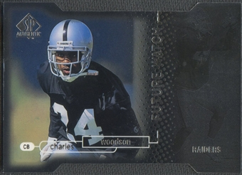 1998 SP Authentic #23 Charles Woodson Die Cut Rookie #427/500