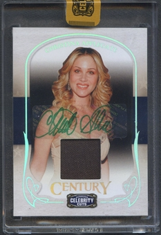 2008 Celebrity Cuts Century #20 Christina Applegate Signature Material Shirt Auto #5/5