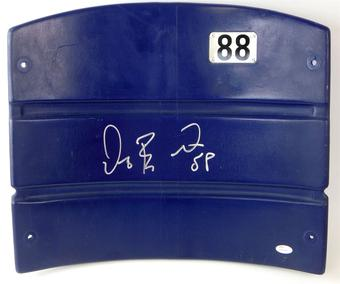 Dez Bryant Autographed Dallas Cowboys Stadium Authentic Seatback (JSA)