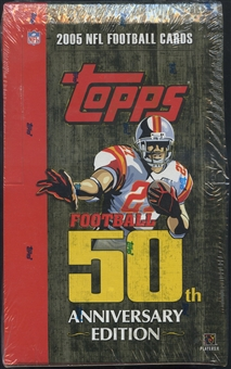 2005 Topps Football Retail Box